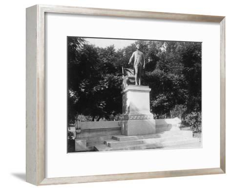 Statue of George Washington (1732-179), Buenos Aires, Argentina, 1927--Framed Art Print