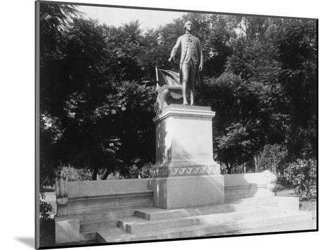 Statue of George Washington (1732-179), Buenos Aires, Argentina, 1927--Mounted Giclee Print