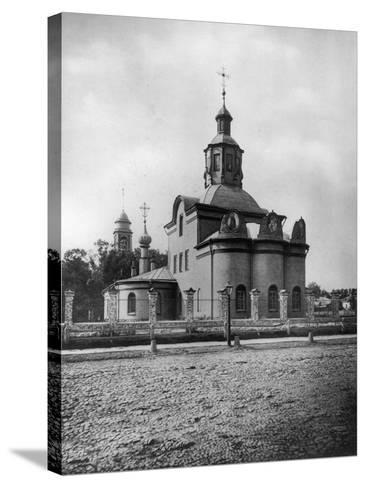 Church of the Life-Giving Trinity, Kapelki, Moscow, Russia, 1882- Scherer Nabholz & Co-Stretched Canvas Print