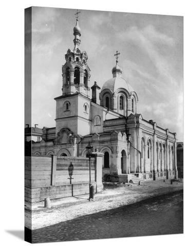 Church of St Gregory the Theologian, Moscow, Russia, 1881- Scherer Nabholz & Co-Stretched Canvas Print