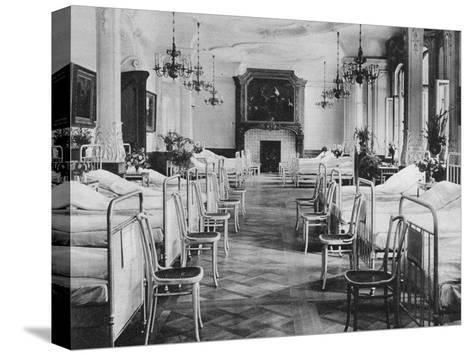 German Hospital Dormitory for Soldiers, Frankfurt Am Main, Germany, World War I, 1915--Stretched Canvas Print