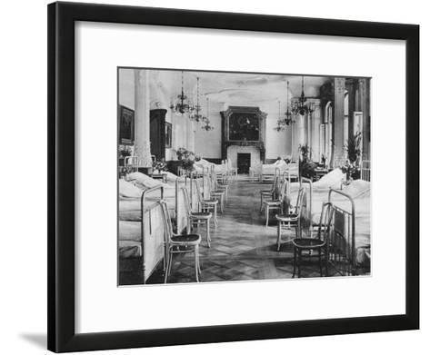 German Hospital Dormitory for Soldiers, Frankfurt Am Main, Germany, World War I, 1915--Framed Art Print