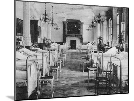 German Hospital Dormitory for Soldiers, Frankfurt Am Main, Germany, World War I, 1915--Mounted Giclee Print