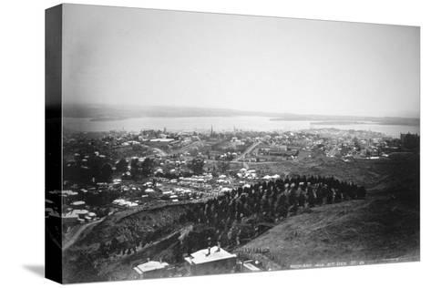 Auckland from Mt Eden, New Zealand, 1899--Stretched Canvas Print