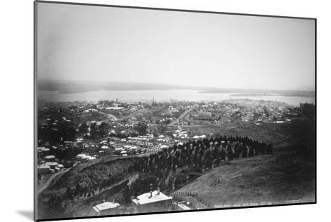 Auckland from Mt Eden, New Zealand, 1899--Mounted Giclee Print