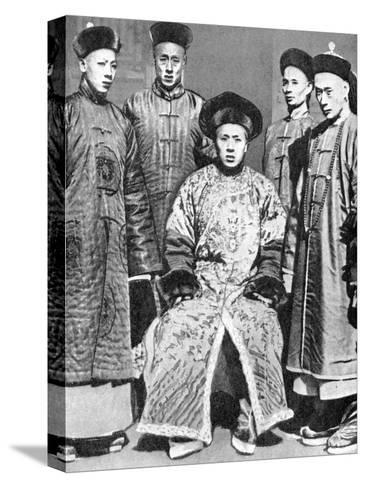 A Portrait of Mandarins, China, 1936--Stretched Canvas Print