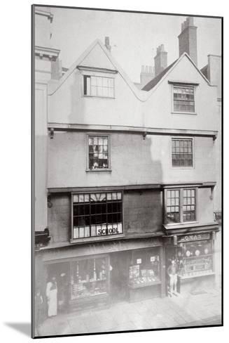 Aldersgate Street, City of London, C1875--Mounted Giclee Print