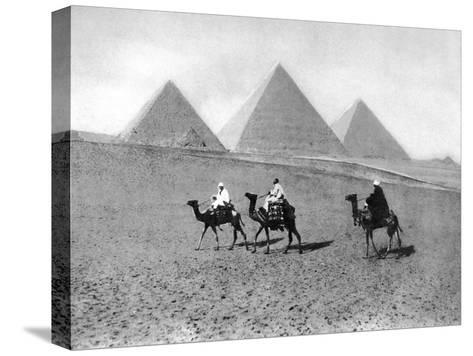 The Pyramids of Giza, Cairo, Egypt, C1920S--Stretched Canvas Print