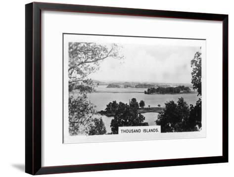 Thousand Islands, St Lawrence River, Canada, C1920S--Framed Art Print