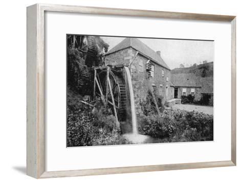 Old Mill, Vallee Des Vaux, Jersey, 1924-1926--Framed Art Print