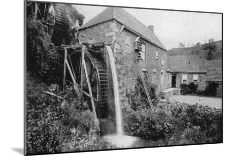 Old Mill, Vallee Des Vaux, Jersey, 1924-1926--Mounted Giclee Print