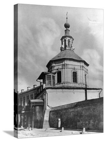 Monastery of St John Chrysostom, Moscow, Russia, 1881- Scherer Nabholz & Co-Stretched Canvas Print