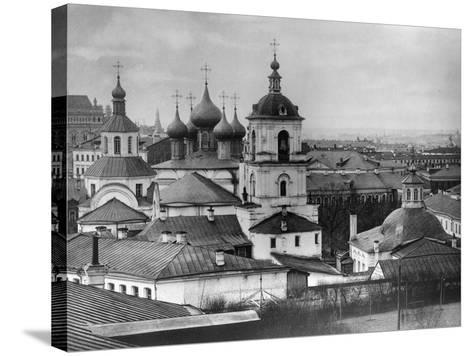Monastery of St John Chrysostom, Moscow, Russia, 1882- Scherer Nabholz & Co-Stretched Canvas Print