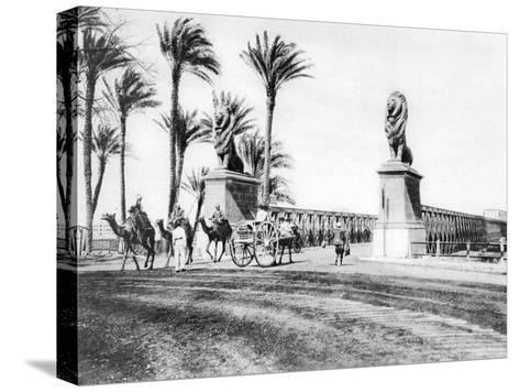 The Kasr-El-Nile Bridge, Cairo, Egypt, C1920S--Stretched Canvas Print
