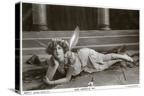 Gabrielle Ray, English Actress, Dancer and Singer, C1900s--Stretched Canvas Print
