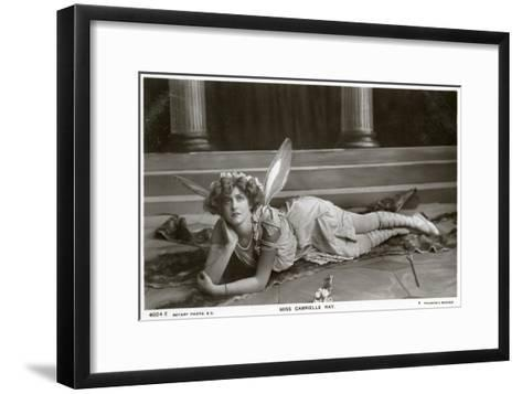 Gabrielle Ray, English Actress, Dancer and Singer, C1900s--Framed Art Print