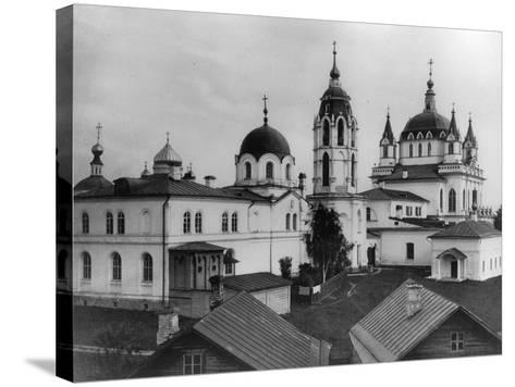 Monastery of the Immaculate Conception, Moscow, Russia, 1881- Scherer Nabholz & Co-Stretched Canvas Print