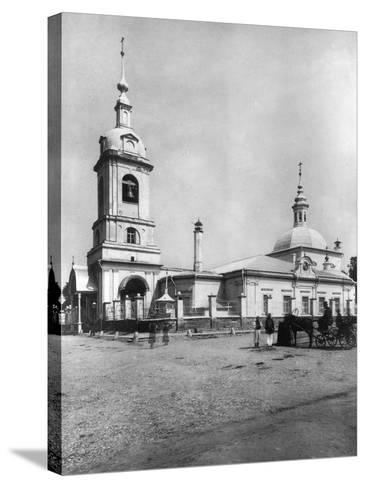 Church of the Forty Martyrs of Sebaste, Moscow, Russia, 1882- Scherer Nabholz & Co-Stretched Canvas Print