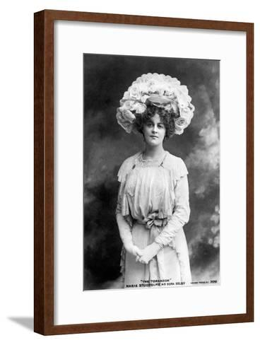 Marie Studholme (1875-193), English Actress, 1900s--Framed Art Print