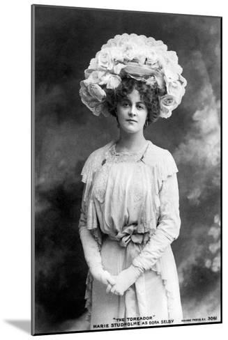 Marie Studholme (1875-193), English Actress, 1900s--Mounted Giclee Print