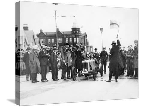 Archie Frazer-Nash Waiting at the Start of a Motor Racing Event--Stretched Canvas Print