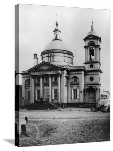 Great Martyr Barbara Church, Moscow, Russia, 1881- Scherer Nabholz & Co-Stretched Canvas Print