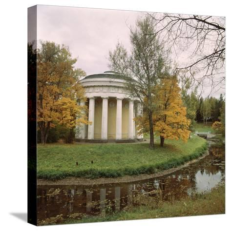 Pavlovsk. the Temple of Friendship, 1780-1783-Charles Cameron-Stretched Canvas Print