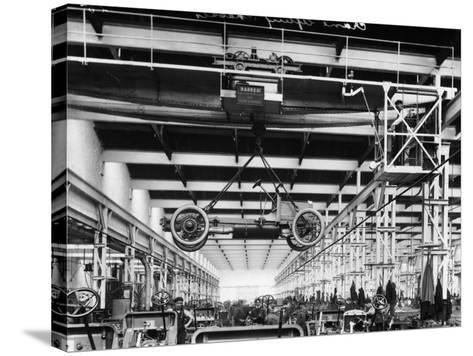 The Daimler Chassis Shop, C1911-C1914--Stretched Canvas Print