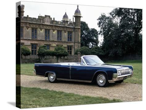 1964 Lincoln Continental--Stretched Canvas Print