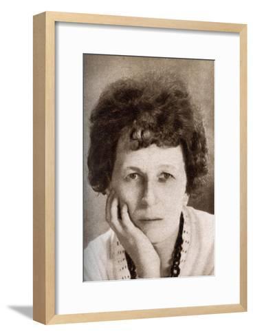 Beulah Marie Dix, American Screen Writer, 1933--Framed Art Print