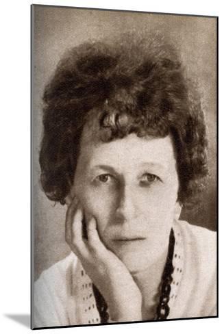 Beulah Marie Dix, American Screen Writer, 1933--Mounted Giclee Print