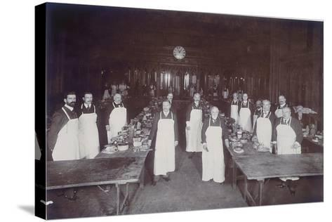The Lord Mayor's Dinner at Guildhall, London, C1900--Stretched Canvas Print