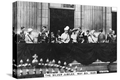 King George V's Silver Jubilee, London, May 6th, 1935--Stretched Canvas Print