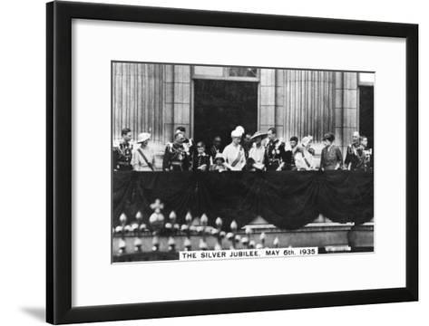 King George V's Silver Jubilee, London, May 6th, 1935--Framed Art Print