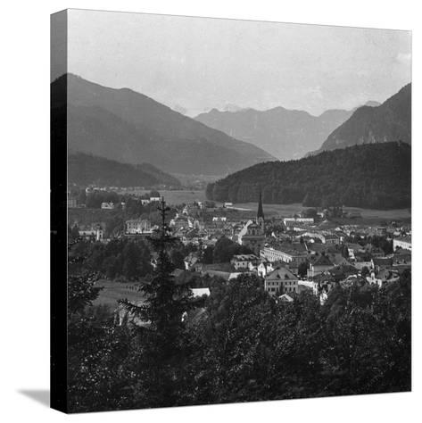 Bad Ischl, at the Foot of Hoher Dachstein, Salzkammergut, Austria, C1900s-Wurthle & Sons-Stretched Canvas Print