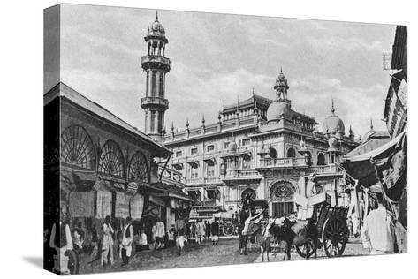 Juma Masjid, Bombay, India, 20th Century--Stretched Canvas Print