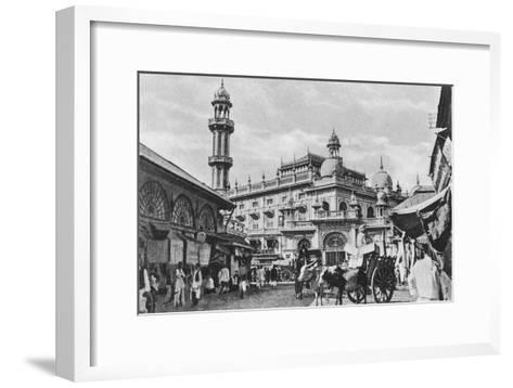 Juma Masjid, Bombay, India, 20th Century--Framed Art Print