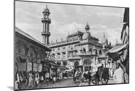 Juma Masjid, Bombay, India, 20th Century--Mounted Giclee Print