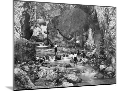 Cane River, Jamaica, C1905-Adolphe & Son Duperly-Mounted Giclee Print