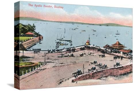 The Apollo Bunder, Bombay, India, Early 20th Century--Stretched Canvas Print