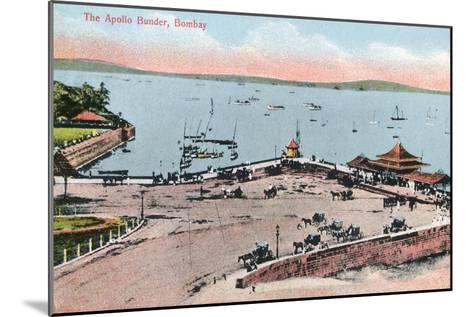 The Apollo Bunder, Bombay, India, Early 20th Century--Mounted Giclee Print