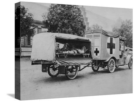 A German Ambulance, Eastern Front, World War I, 1915--Stretched Canvas Print