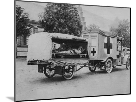 A German Ambulance, Eastern Front, World War I, 1915--Mounted Giclee Print
