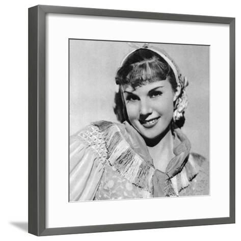 Joan Gardner, British Film Actress, 1934-1935--Framed Art Print