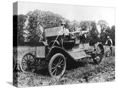 Model T Ford with Stephenson Agricultural Conversion, Sussex, 1917--Stretched Canvas Print