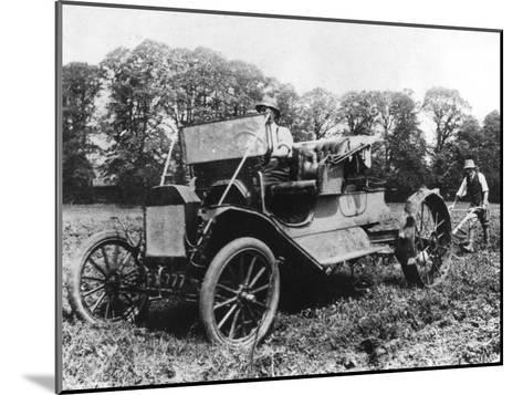Model T Ford with Stephenson Agricultural Conversion, Sussex, 1917--Mounted Giclee Print