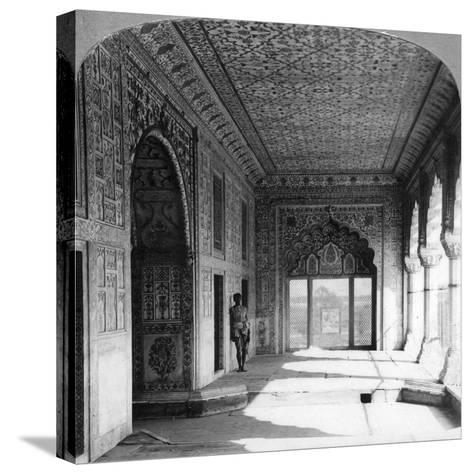 The Palace of Rang Mahal, the Royal Residence of the Mogul Queen, Delhi, India, 1900s--Stretched Canvas Print