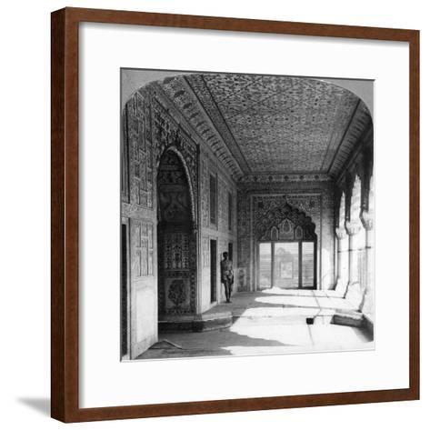 The Palace of Rang Mahal, the Royal Residence of the Mogul Queen, Delhi, India, 1900s--Framed Art Print