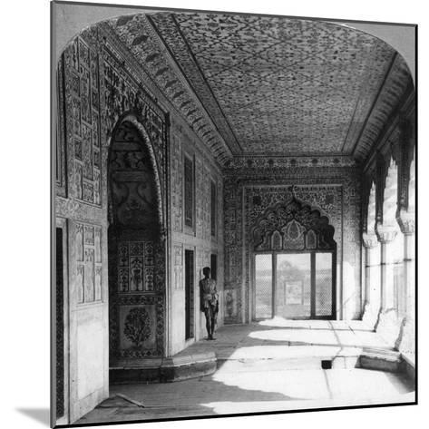 The Palace of Rang Mahal, the Royal Residence of the Mogul Queen, Delhi, India, 1900s--Mounted Giclee Print