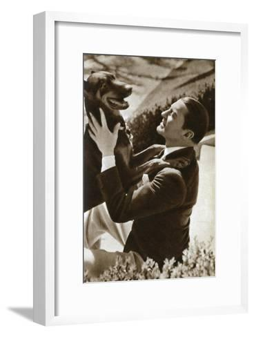 Clive Brook, English Actor, 1933--Framed Art Print